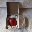 Vintage Collectible Scented Apple Candle FRom Marshall Fields Chicago