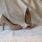 NEW IN BOX Super Sexy Andrew Geller Nude Patent Platform Heels Shoes Size 10 M