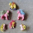 Vintage Tara Toy Pony Lot of 6 Fakie Ponies