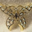 Vintage Signed Gerry Butterfly Brooch Pin