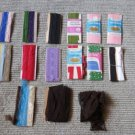 Vintage Lot of 15 Great Variety of Sewing Trims Fabulous Assortment