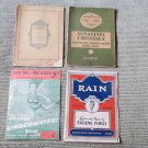 Really Neat Lot of 4very old Sheet Music 1892 1927 French and American