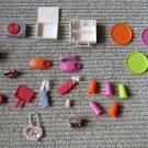 Large Vintage Barbie Lot of 23 Barbie Accessories Maybe other fashion Doll too?