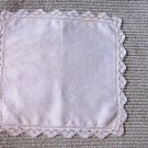 Vintage Wedding Handkerchief Hankie crocheted Lace