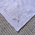 Truly Exquisite Embroidered Vintage Other Handkerchief Hankie