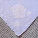 Beautiful Applique Work  Handkerchief Hankie