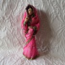 PRetty Very Old Vintage Indian Doll India Gorgeous Sari Handmade