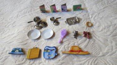 Lot Of super neat unique 21 Doll Accessories  Manufacturer Unknown