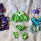 Lot Of 8 Build-A-Bear Outfits Disney – Tinkerbell, Ariel, Harry Potter