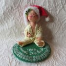 Annalee Doll Society 1989 Christmas Doll  AS IS
