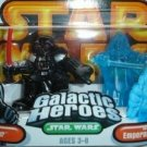 FREE SHIPPING STAR WARS GALACTIC HEROES HOLOGRAPHIC PALPATINE DARTH VADER 2 PACK