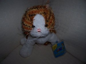 WEBKINZ Brown Striped Alley Cat
