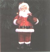 BRAND NEW IN BOX 1996 Hallmark Ornaments Santa: Keepsake Club