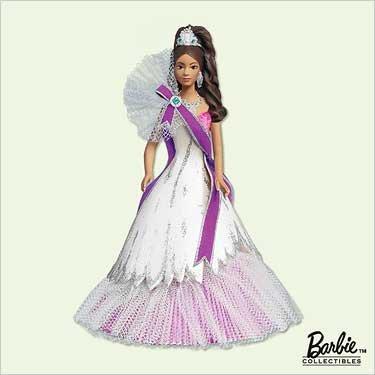 BRAND NEW IN THE BOX 2005 African American Celebration Barbie Hallmark Ornament