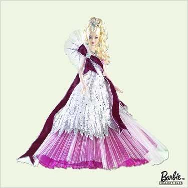 BRAND NEW IN THE BOX 2005 Celebration Barbie Hallmark Ornament