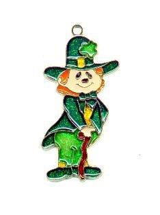 St Patrick's Leprechaun  Suncatcher