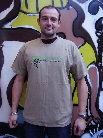 Grass Roots Grey T-Shirt (2007 Edition)-exclusive