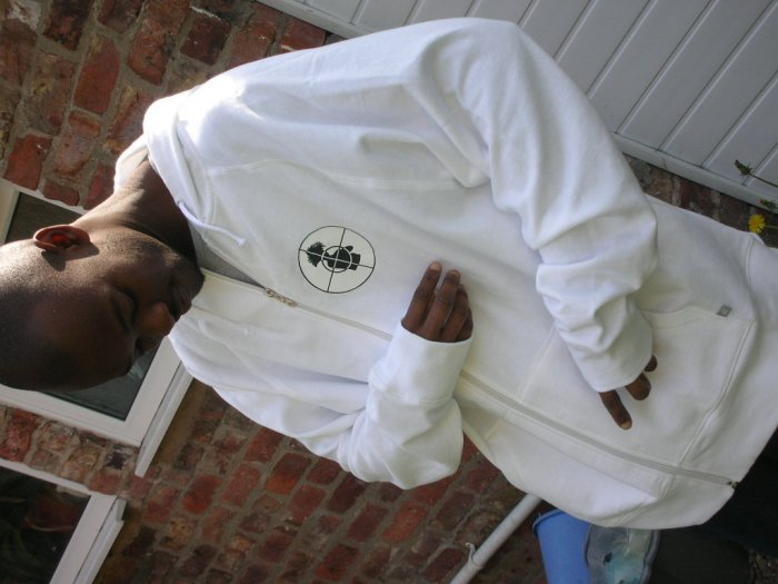 Full Flava White Hoody (edition one)