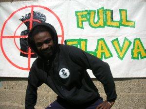 Full Flava Black Hoody (edition one)