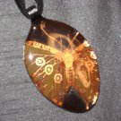 BUTTERFLY Serving Spoon Pendant / Necklace   Upcycle
