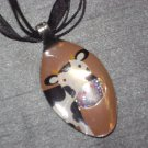 COW Spoon Pendant / Necklace   Upcycle