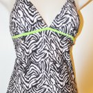 Black and White Bobbie Brooks Tanki Set. Size M