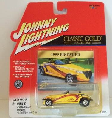 JOHNNY LIGHTNING CLASSIC GOLD 1:64 1999 PROWLER '99 MINT NRFP