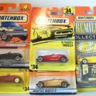 MATCHBOX 5 CAR LOT PLYMOUTH PROWLER PREMIERE #4 #34 NRFP GREAT COLLECTION