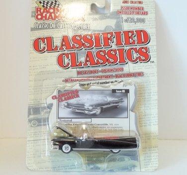 RACING CHAMPIONS CLASSIFIED CLASSICS 1959 CADILLAC ELDORADO '59 #8 NRFP 1 OF 20,000
