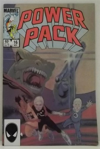 VINTAGE MARVEL POWER PACK COMIC BOOK NOV 1985 #16