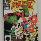 VINTAGE MARVEL POWER PACK COMIC BOOK DEC 1985 #17