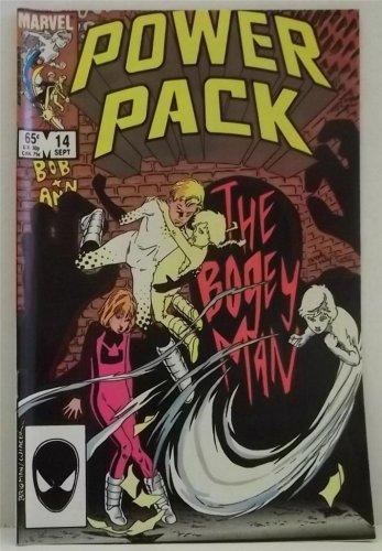 VINTAGE MARVEL POWER PACK COMIC BOOK SEPT 1985 #14