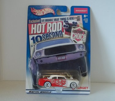 HOT WHEELS EDITORS CHOICE 1949 FORD SHOEBOX '49 TARGET EXCLUSIVE NRFP