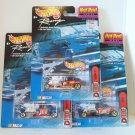 HOT WHEELS RACING DELUXE HOT ROD SET OF 3 CITGO MCDONALDS KMART RT. 66 NRFP
