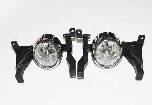 Fog Light Lamp + Cover + Connector 6EA (Fit: KIA SORENTO 2010 - 2012)