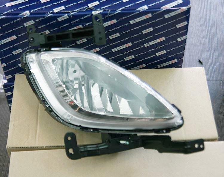 Fog lamp LH of Hyundai Elantra 2011 2012 2013