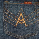 SEVEN ORANGE A POCKET JEAN SZ 25