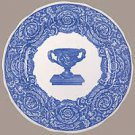 NEW SPODE BLUE ROOM WARWICK VASE  DINNER PLATE