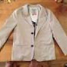 NEW BOYS RETRO BLAZER DEEP KHAKI TONAL PLAID 16 $95
