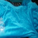 NEW WOMAN'S PLUS COVINGTON VELOUR TURQUOISE PANTS 24-26w