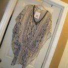 NEW WOMENS STUDIO THIRTY SIX 3 WAY TO WEAR TUNIC SWIM COVERUP animal print m/l