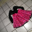 NEW GIRLS ASHLEY ANN HOLIDAY VELVET SEQUIN FLARED DRESS 5 BLACK PINK
