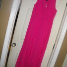 NEW LAND'S END TULIP HEM MAXI DRESS CACTUS FLOWER XL