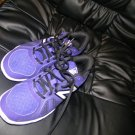 NEW BALANCE MINIMUS CROSS-TRAINER SHOES PURPLE BLACK WHITE 9
