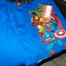NEW MEN'S MARVEL COMICS AVENGERS BOXERS M BLUE