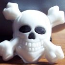 SKULL WITH CROSSBONES SHOE CHARM FOR ALL CLOGS AND CROCS