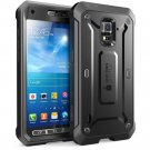 Samsung Galaxy S5 Active SUPCASE Black Case [Heavy Duty Rugged Hybrid] Case
