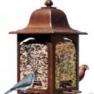 Birdscapes Tulip Garden Lantern Bird Feeder Holds 5 Pounds of Seed