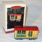 Hallmark 1996 Ornament Yuletide Central Mail Car MIB