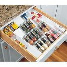 New Expand-A-Drawer Spice Organizer Holds Up To 36 Bottles